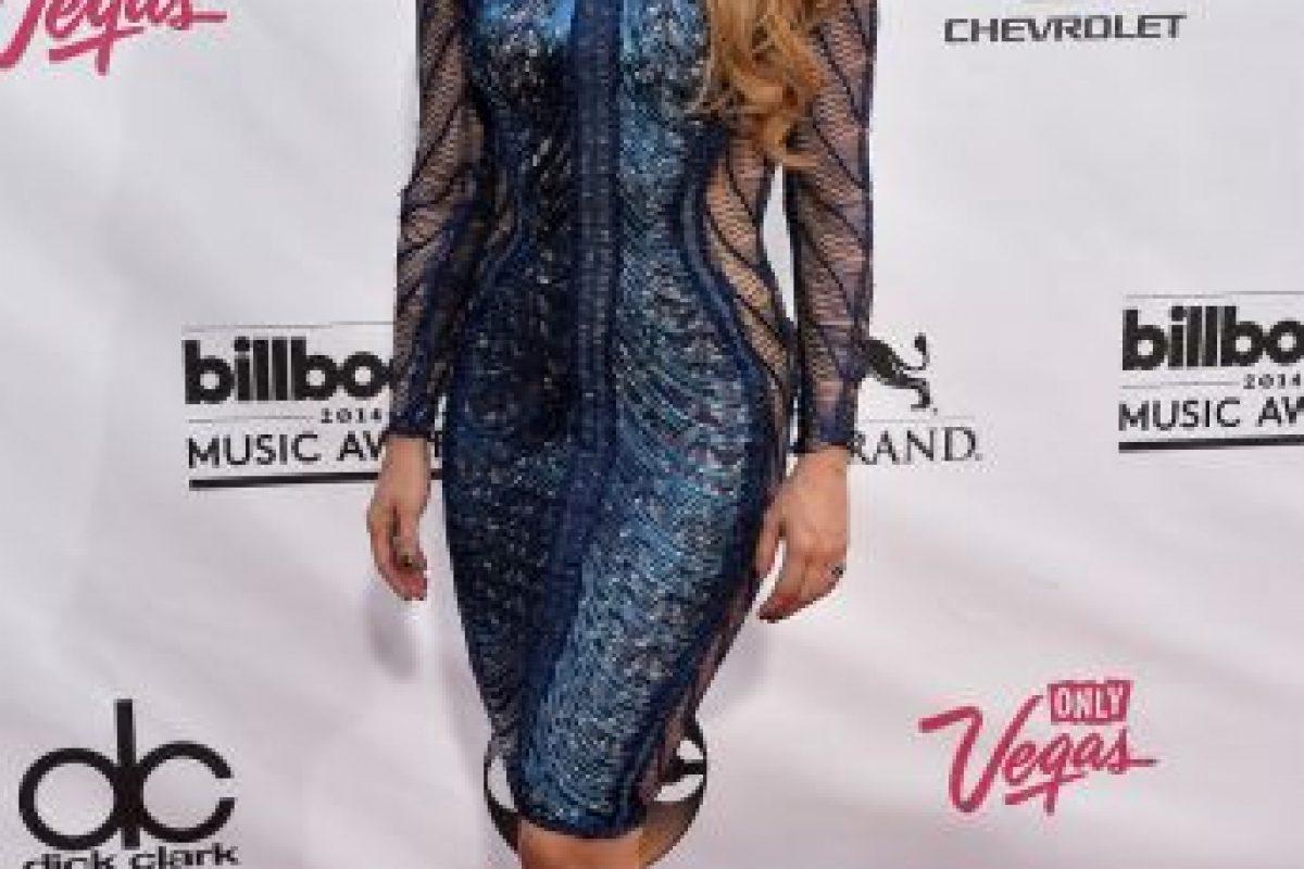 Además, Shakira es el nombre de la marca de perfumes que la artista promociona, en colaboración con la compañía de moda y perfumes española Puig Foto:Getty Images. Imagen Por:
