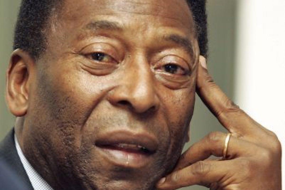 El rey Pelé se encuentra hospitalizado. Foto:Getty Images. Imagen Por: