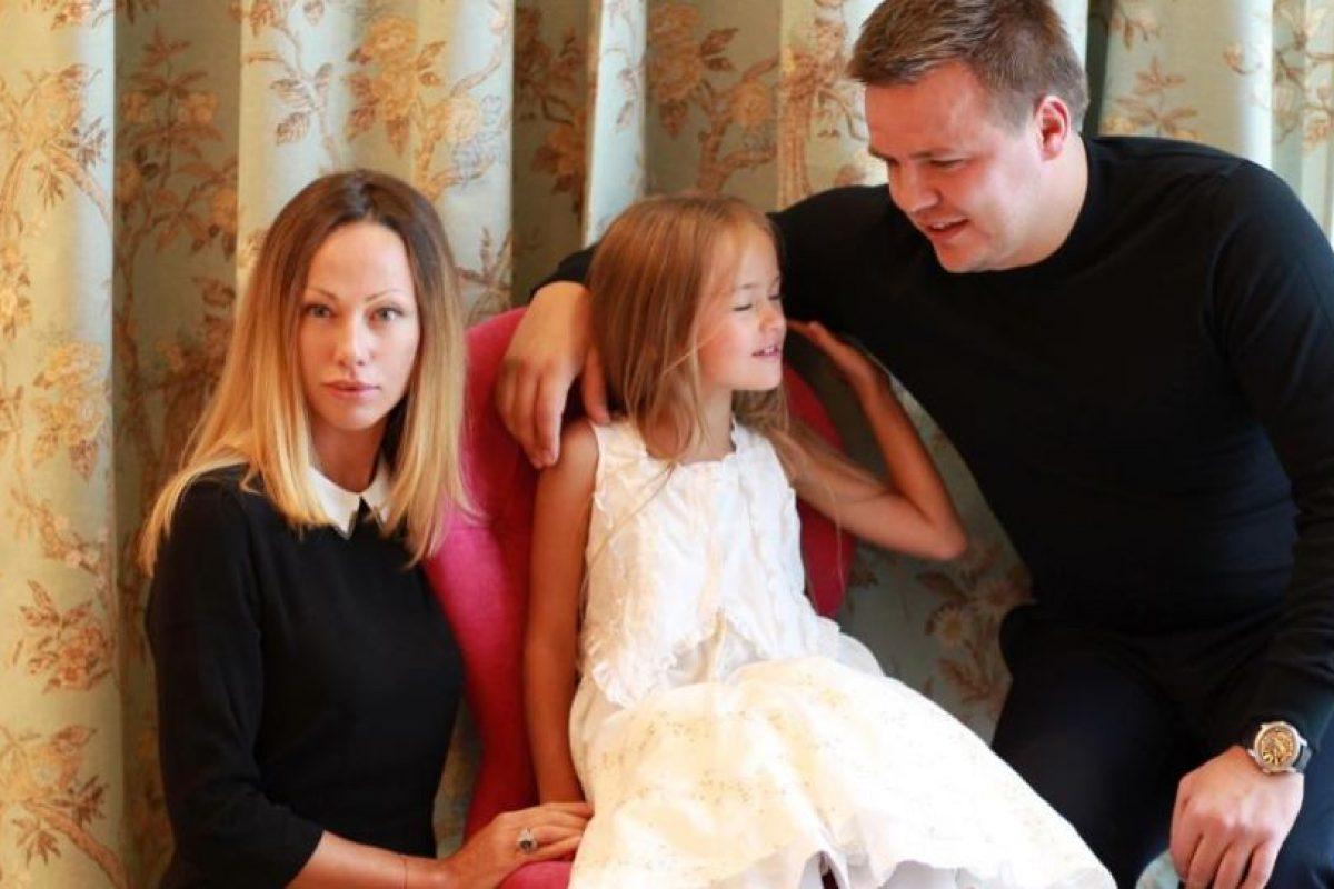 Kristina es hija del futbolista Ruslan Pimenov y la modelo Glikeriya Shirokova. Foto:Facebook/Glikeriya Pimenova. Imagen Por: