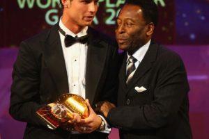 Cristiano Ronaldo y Pelé. Foto:Getty Images. Imagen Por: