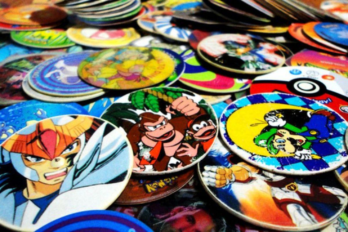 Los tazos, que odían coleccionarse o jugarse en eternas batallas. Foto:Reproducción. Imagen Por: