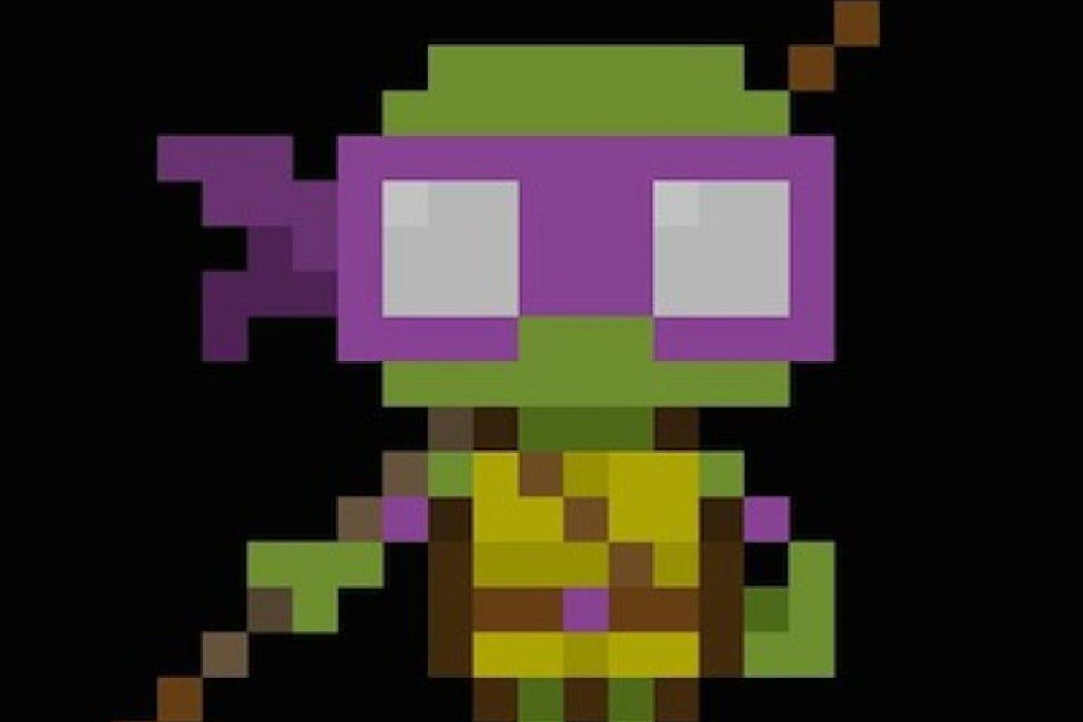 De la saga Teenage Mutant Ninja Turtles: Donatello Foto:Instagram the_oluk. Imagen Por: