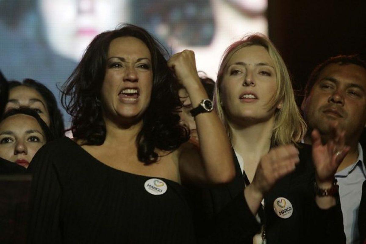 Marisela Santibáñez, actriz y ex candidata a diputada (PRO) Foto:Agencia Uno. Imagen Por: