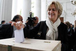 Evelyn Matthei, ex candidata presidencial de la Alianza (UDI) Foto:Agencia Uno. Imagen Por: