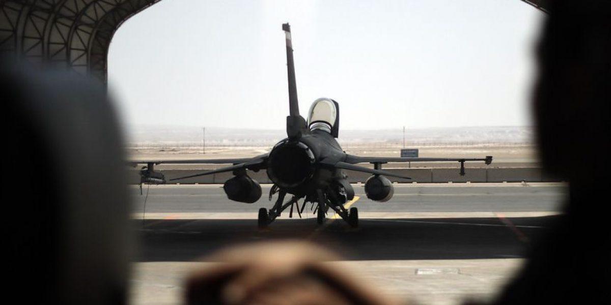 (Galería) Las mejores fotos del F-16 de la Fuerza Aérea de Chile