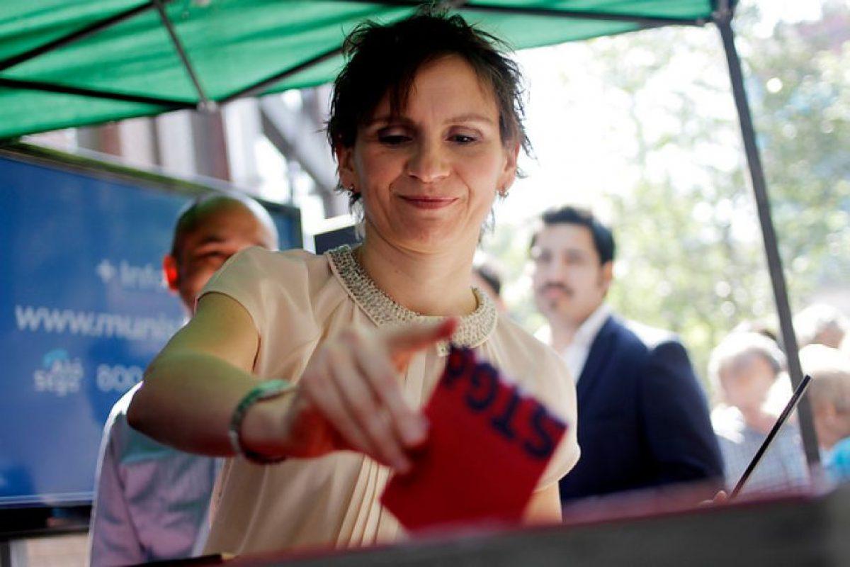 Carolina Tohá, alcalde de Santiago que va por la reelección (PPD) Foto:Agencia Uno. Imagen Por: