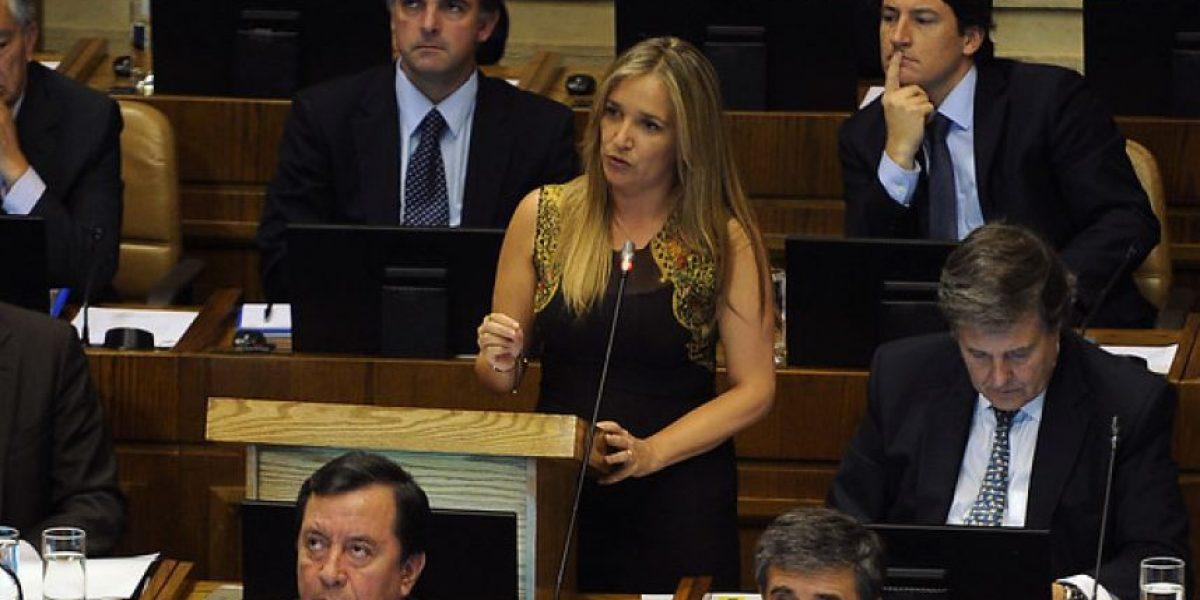 Diputada Hoffmann vuelve a apuntar a ministro Eyzaguirre tras interpelación