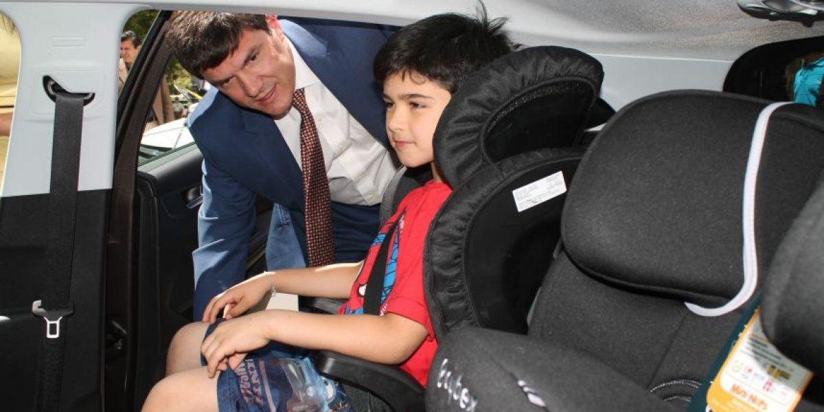 Suben las exigencias de seguridad para las sillas de niños en los autos