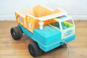 El tradicional camión Goliat de Otto Kraus que todos los niños que querían recibir en Navidad. Foto:Reproducción. Imagen Por:
