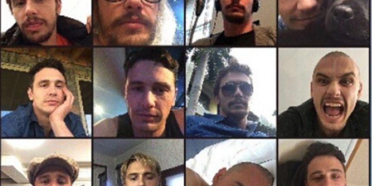 Lanzan calendario con 100 selfies de James Franco