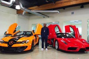 """A """"Money"""" le gusta mostrar sus autos en las redes Foto:Instagram: @floydmayweather. Imagen Por:"""