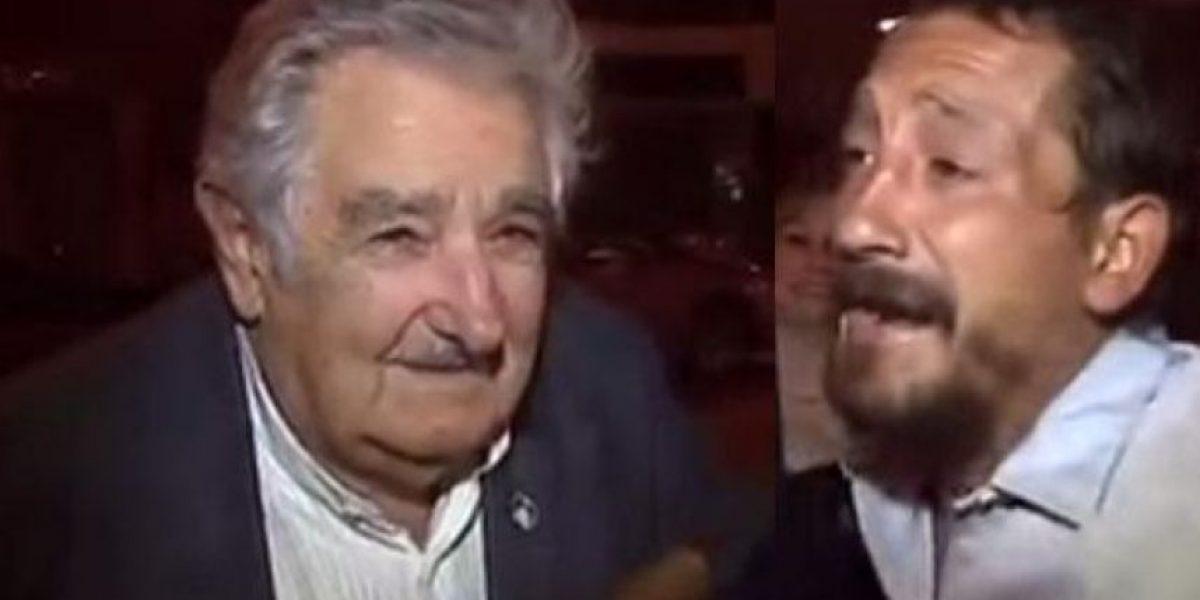 VIDEO: Un mendigo pidió dinero a José Mujica y él tuvo este conmovedor gesto