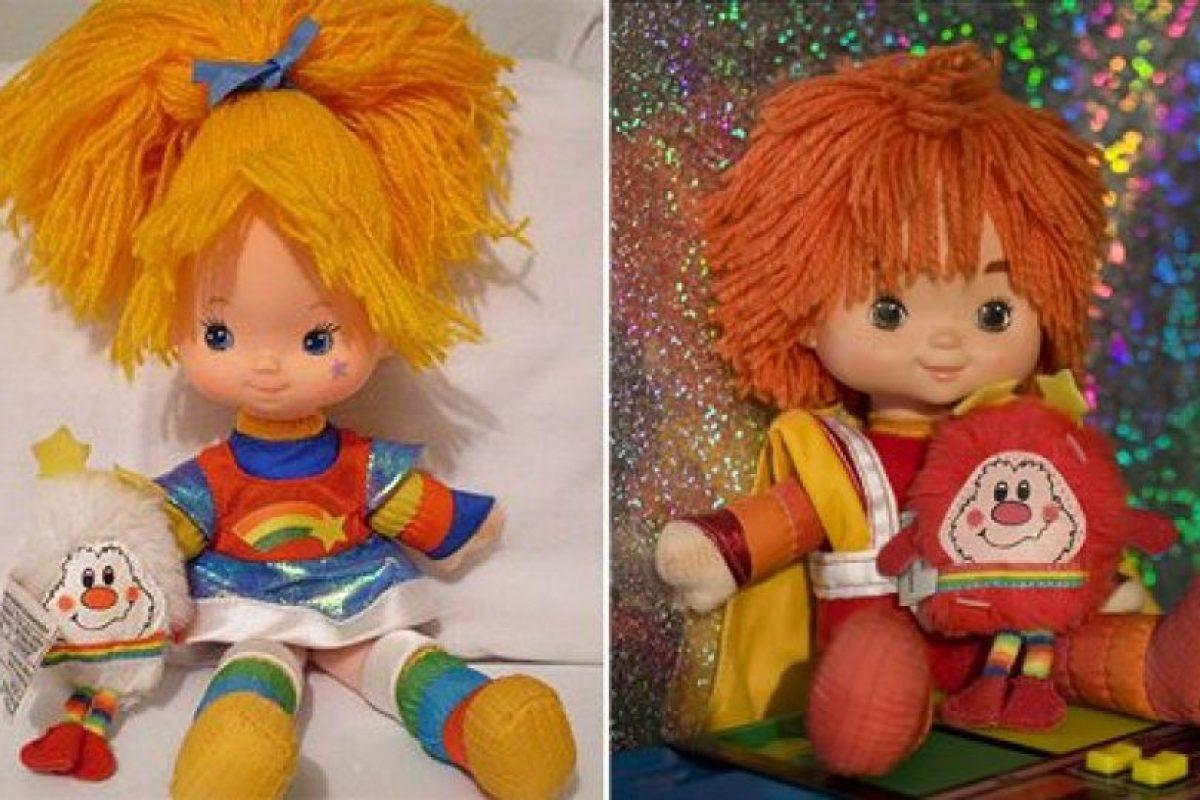 Los muñecos de la serie Rainbow Brite. Foto:Reproducción. Imagen Por: