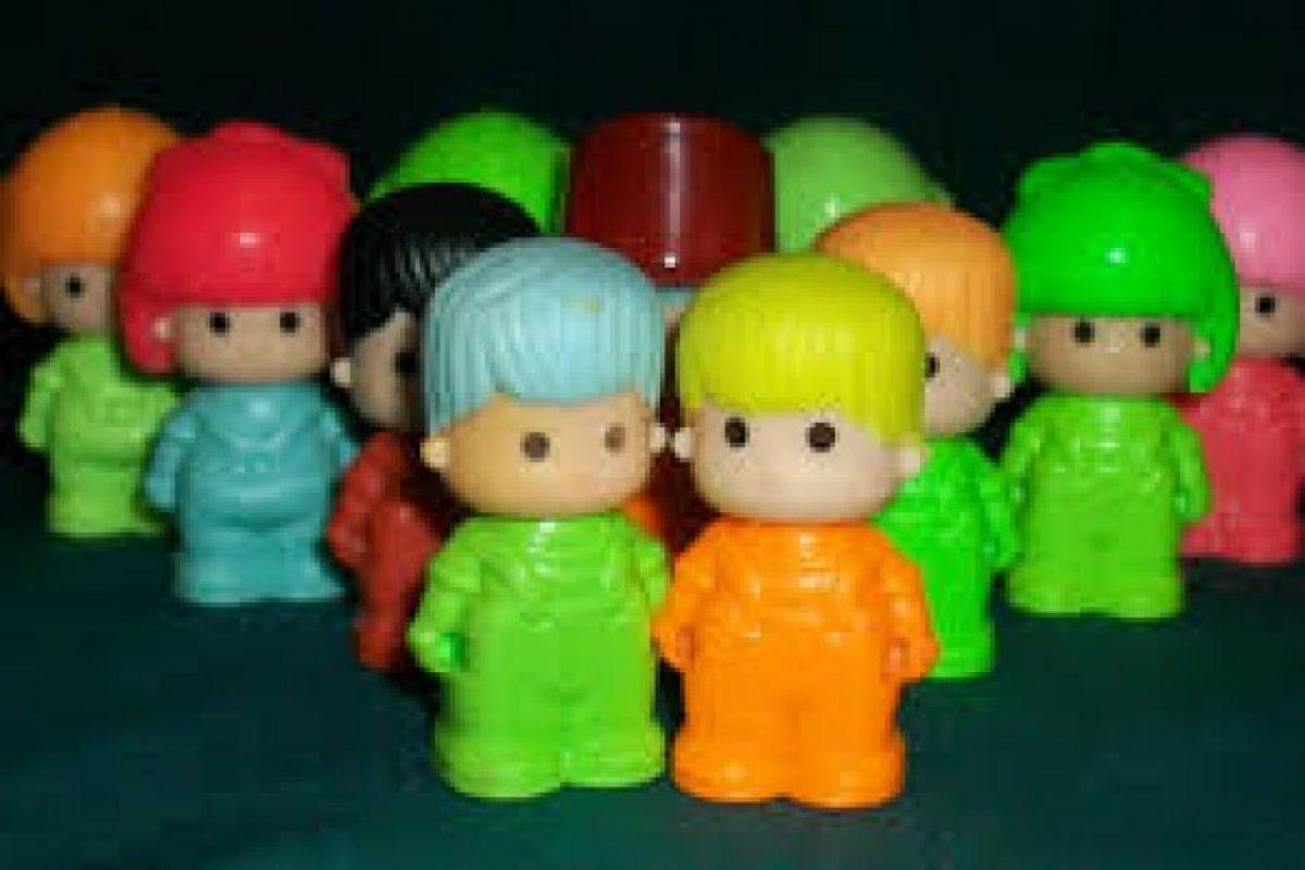 Los muñquitos Pin y Pon de Playmobil. Foto:Reproducción. Imagen Por:
