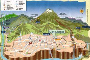 Baños (Ecuador). Es un centro turístico de importancia en el país sudamericano, cuyo nombre viene de las aguas termales, unas de las grandes atracciones de la zona. Foto:Reproducción. Imagen Por: