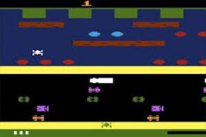 Todos queríamos quela ranita llegara al otro lado, en este videojuego. Foto:Reproducción. Imagen Por: