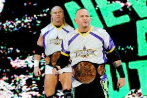 Fue detenido en 1990 por conducta desodenada Foto:WWE. Imagen Por: