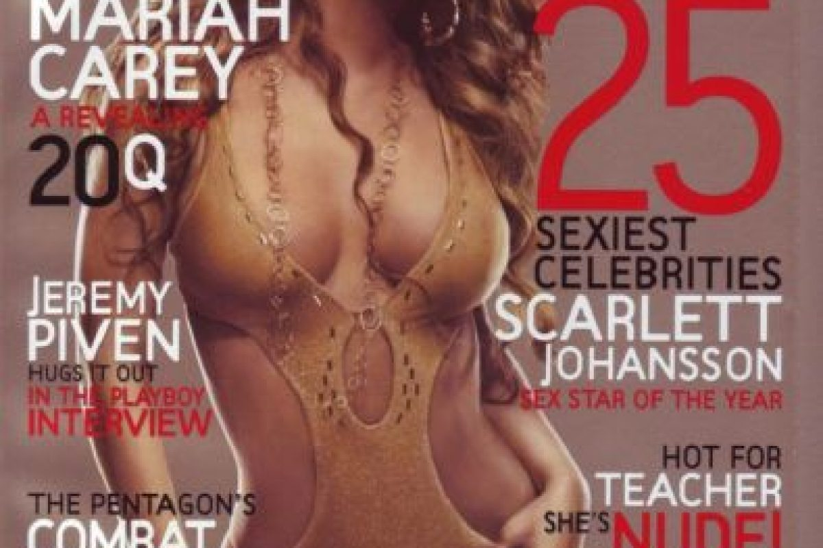 2007, Mariah Carey Foto:Playboy. Imagen Por: