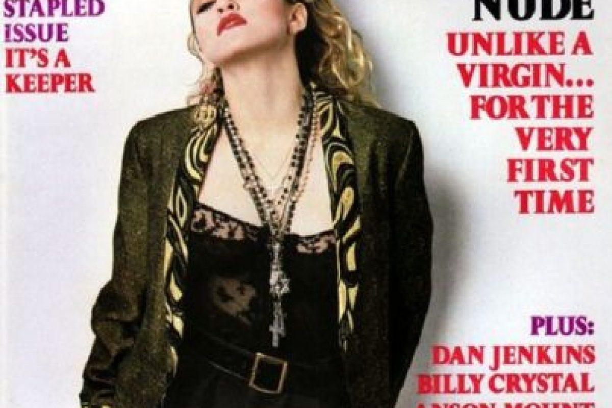 1985, Madonna Foto:Playboy. Imagen Por: