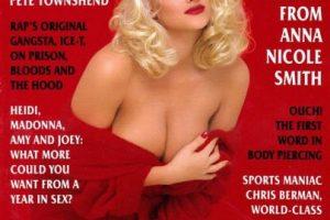 1994, Anna Nicole Smith Foto:Playboy. Imagen Por: