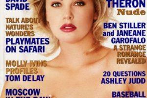 1999, Charlize Theron Foto:Playboy. Imagen Por: