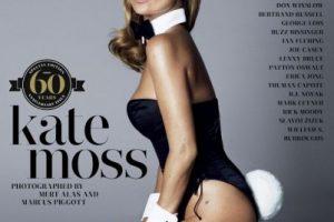 2014, Kate Moss Foto:Playboy. Imagen Por: