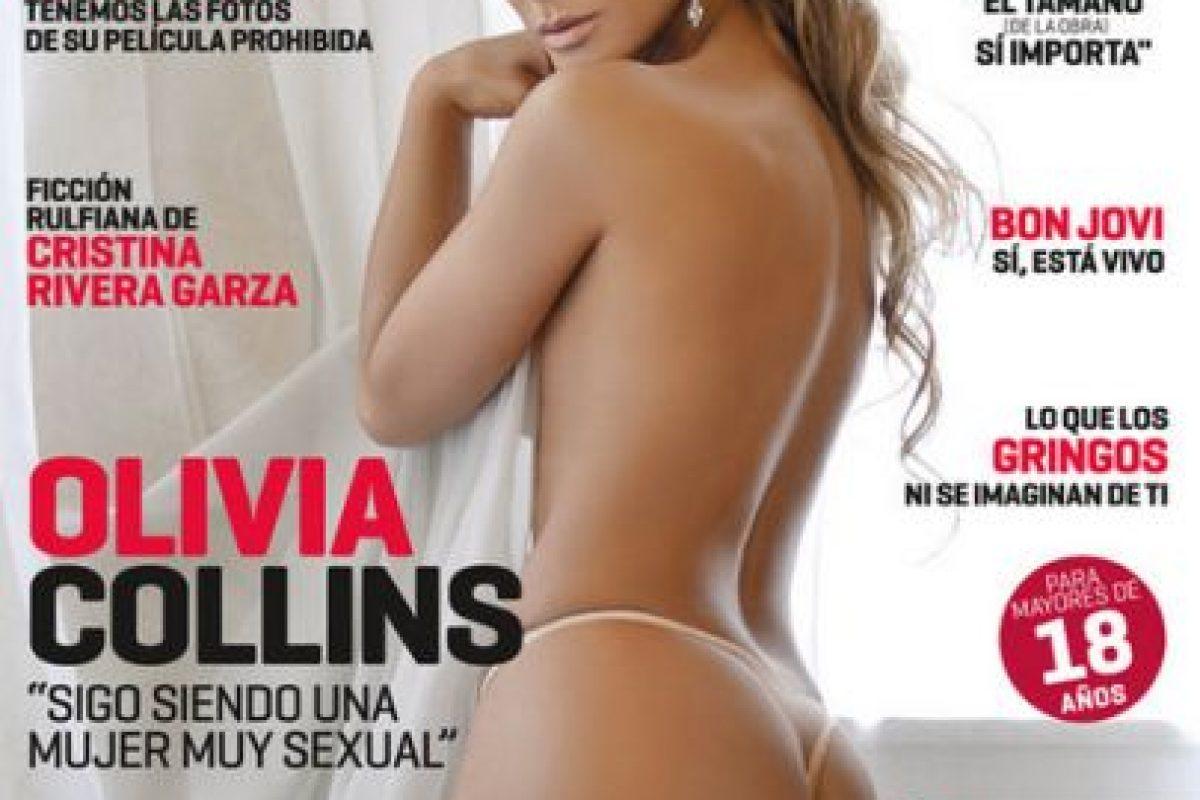 2010, Olivia Collins Foto:Playboy. Imagen Por: