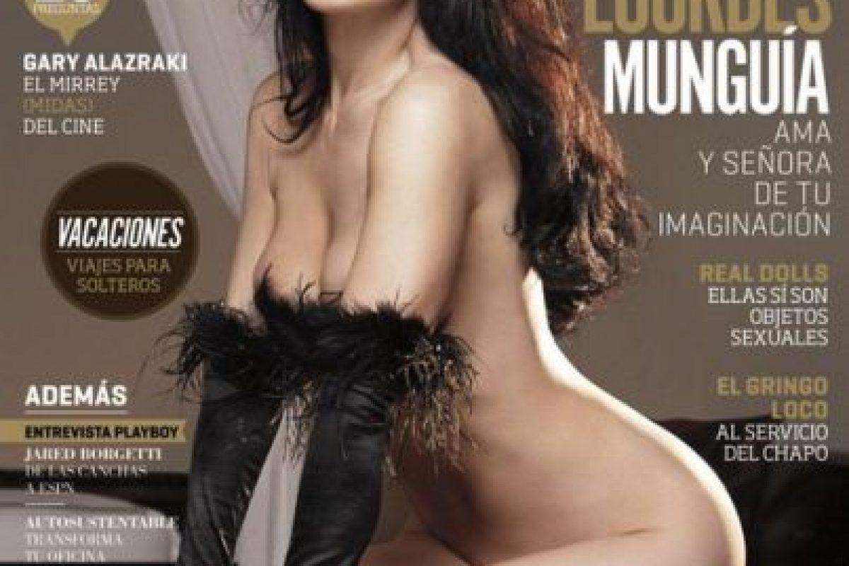 2006, Lourdes Munguía Foto:Playboy. Imagen Por:
