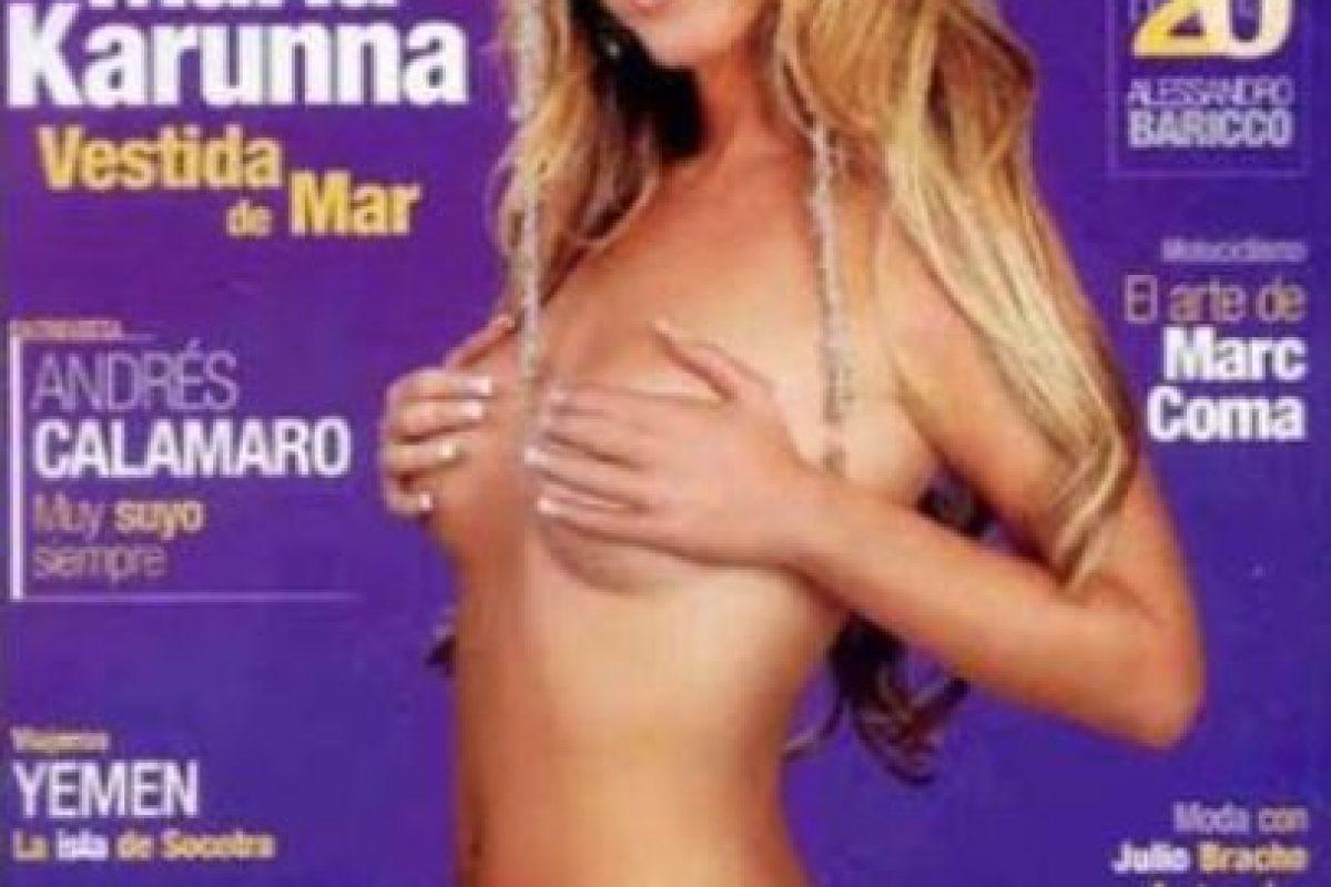 2006, María Carunna Foto:Playboy. Imagen Por: