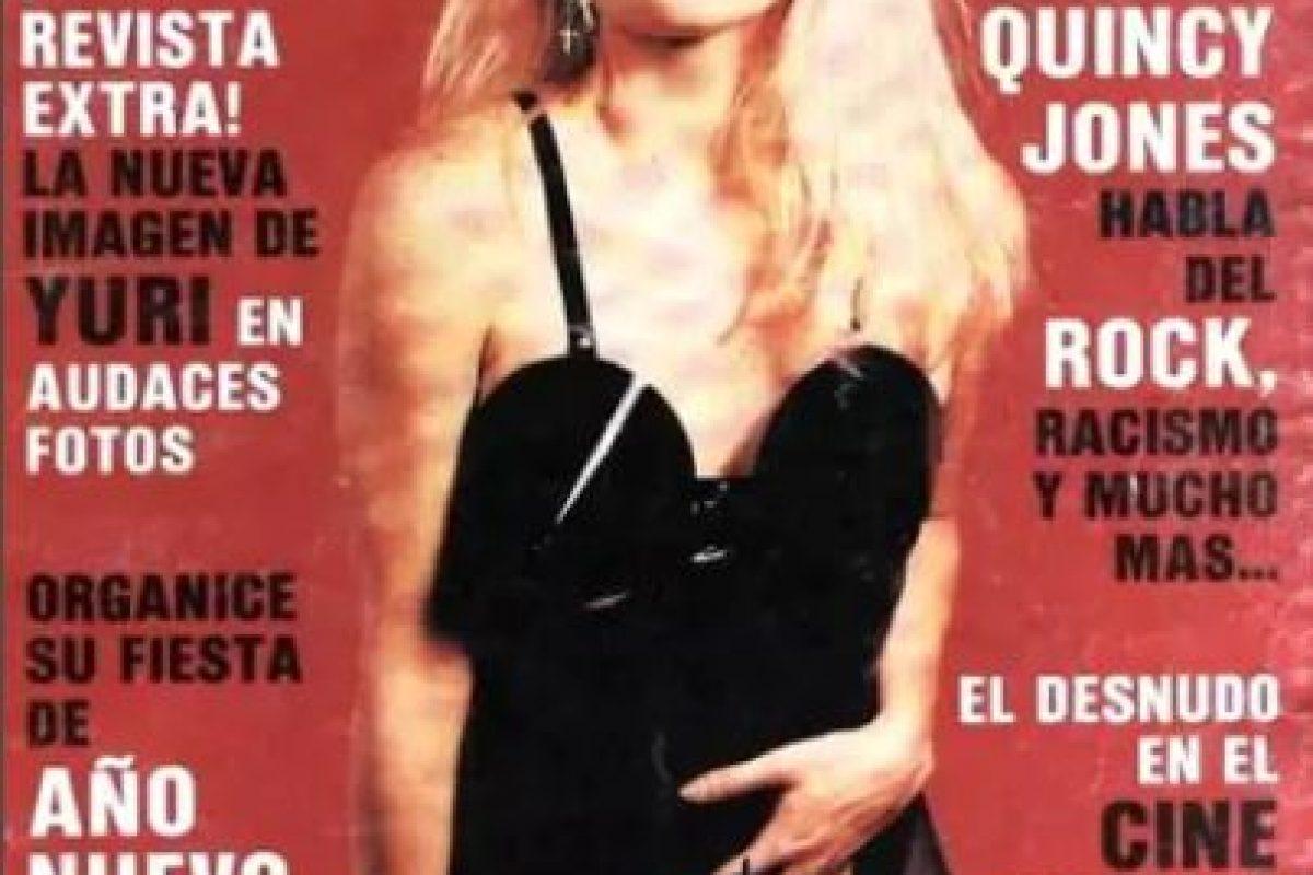 1990, Yuri Foto:Playboy. Imagen Por: