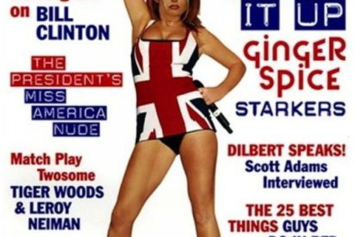 1998, Girl Geri Foto:Playboy. Imagen Por:
