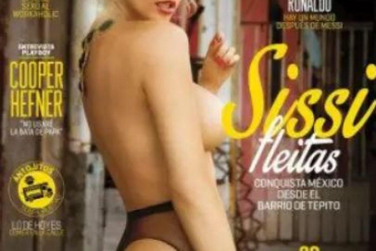2014, Sissi Fleitas Foto:Playboy. Imagen Por: