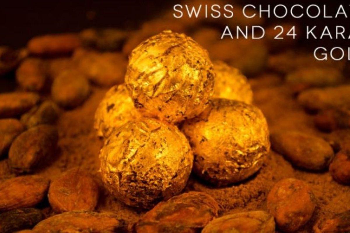 Esta chocolatería combina granos de cacao con partículas de oro comestible de 24 kilates. Para mejorar el sabor, se mezcla con azúcar, aceite de coco, manteca de cacao, leche en polvo y vainilla. Todo esto por 508 dólares los 500 gramos. Foto:Delafee. Imagen Por: