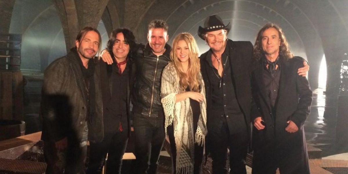 La razón por la que Shakira y Fher de Maná estuvieron juntos en Barcelona
