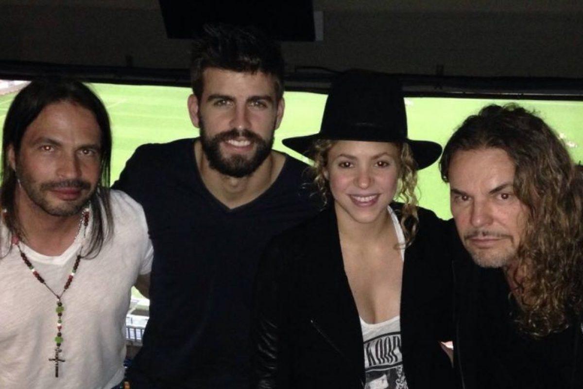Asistieron al Estadio Camp Nou Foto:Facebook Maná. Imagen Por: