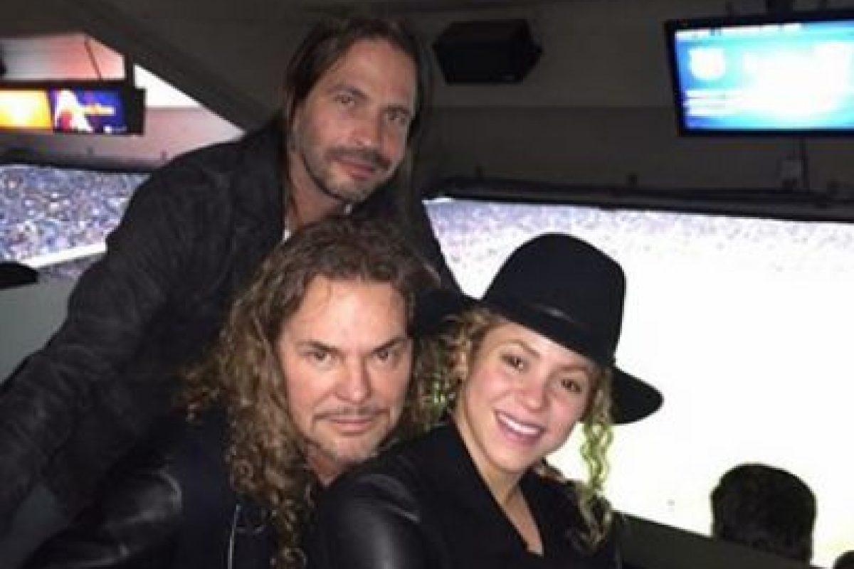 La agrupación visitó Barcelona Foto:Facebook Shakira. Imagen Por: