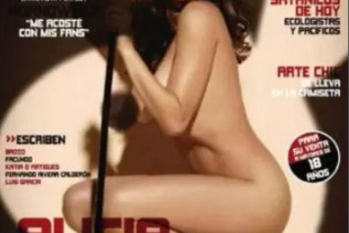 2011, Alicia Machado Foto:Playboy. Imagen Por: