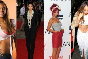 A: Rihanna, con sus combinaciones hip hop y eclécticas Foto:Tumblr. Imagen Por:
