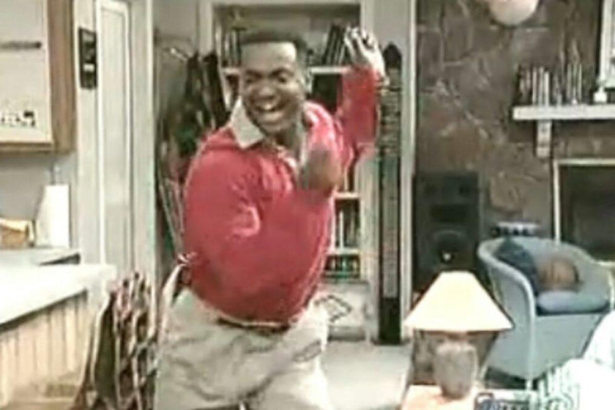"""B: Bailan como Carlton, de """"El Príncipe del Rap"""" Foto:Tumblr. Imagen Por:"""