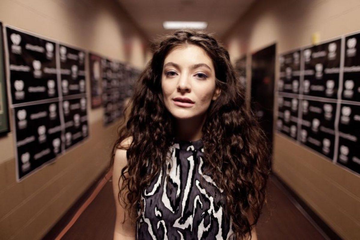 B. Lorde, porque está de moda y es pop con profundidad Foto:Youtube. Imagen Por: