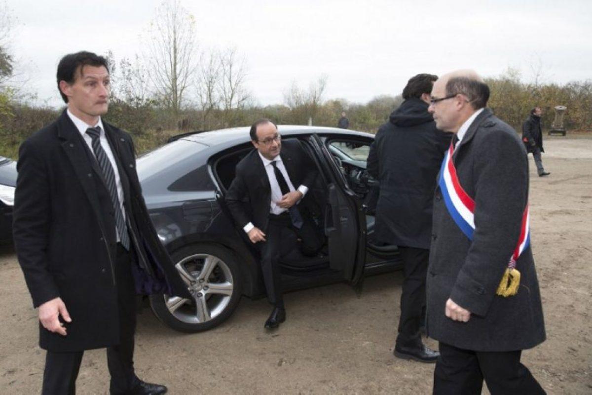 El auto del mandatario francés es amigable con el medio ambiente. Foto:AFP. Imagen Por:
