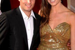 Landon Donovan y Bianca Kajlich. Foto:Getty Images. Imagen Por: