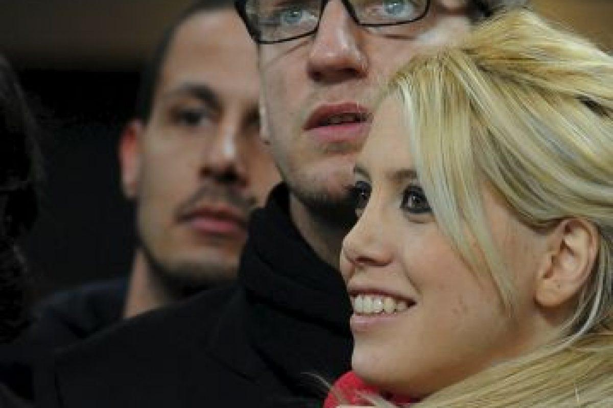 Maxi López y Wanda Nara. Foto:Getty Images. Imagen Por: