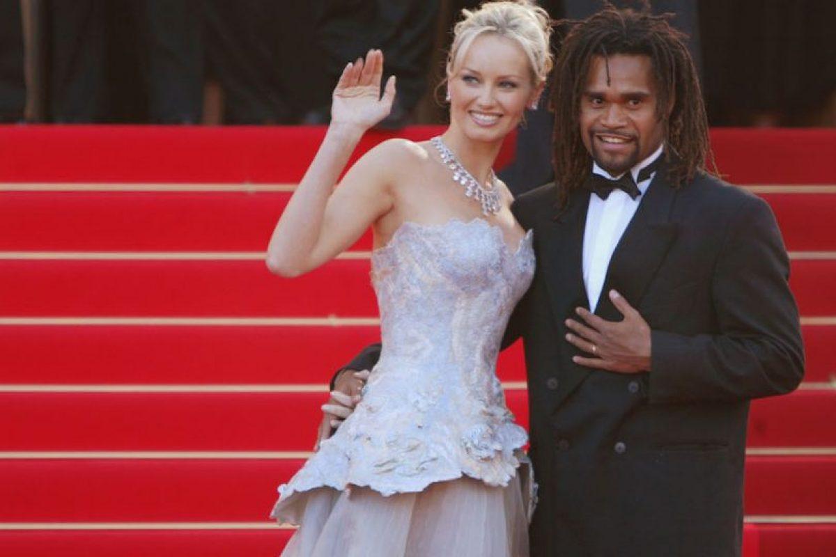 Adriana y Christian Karembeu. Foto:Getty Images. Imagen Por: