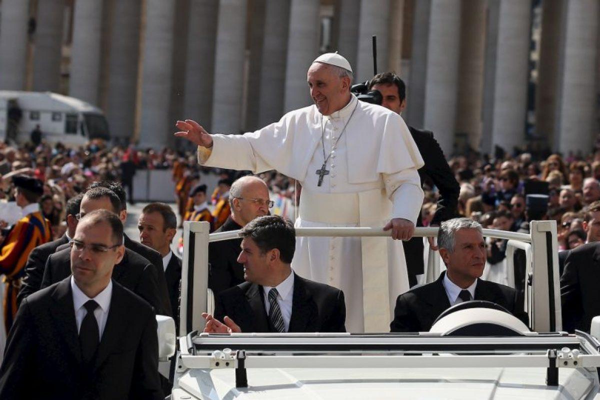 6. Papa Francisco, Estado del Vaticano. Foto:Getty Images. Imagen Por: