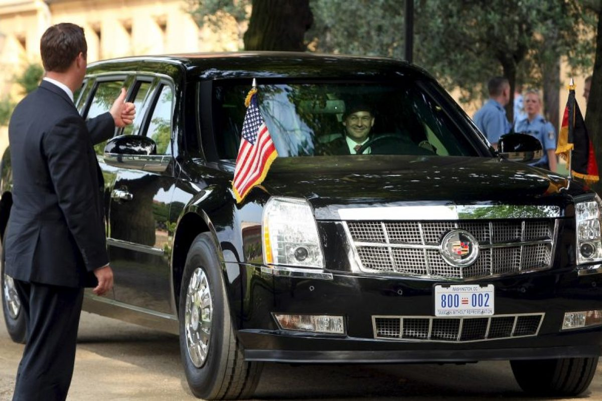 """El mandatario utiliza una limosina llamada """"La Bestia"""" o """"Cadillac One"""" Foto:Getty Images. Imagen Por:"""