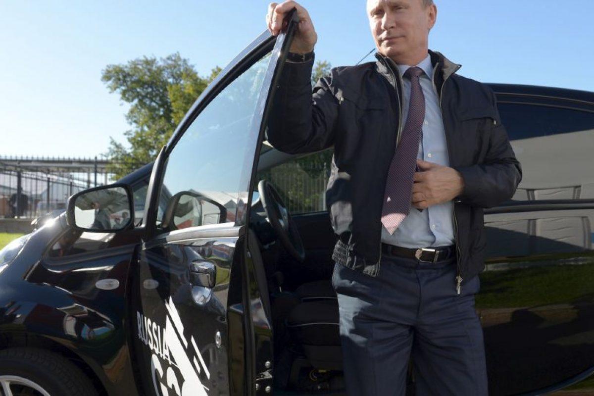 9. Vladimir Putin, Rusia Foto:Getty Images. Imagen Por: