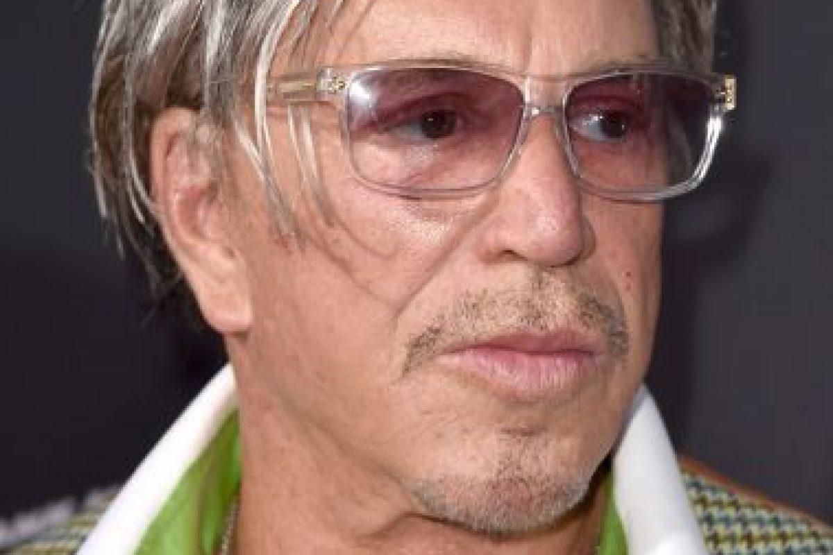 Estuvo nominado al Óscar por su papel protagónico en El Luchador Foto:Getty. Imagen Por: