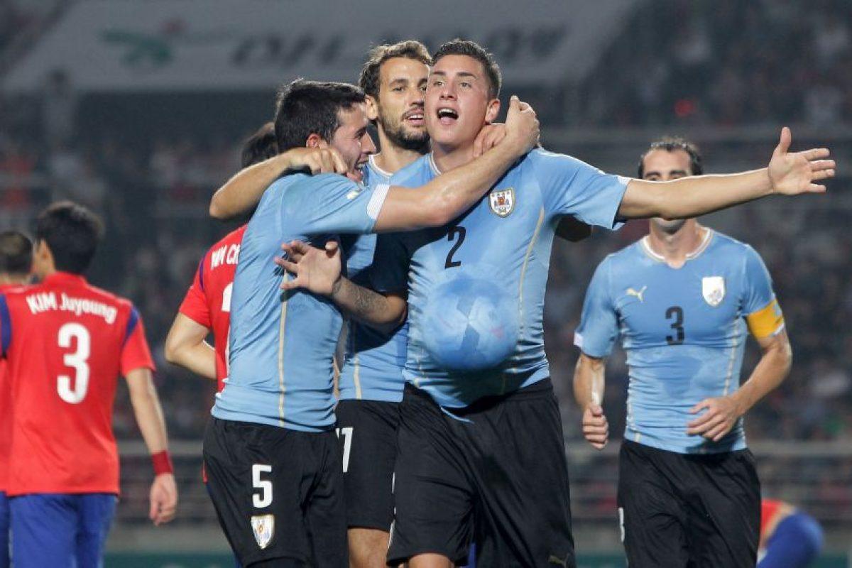 Uruguay quedó encasillado al lado de Argentina Foto:Getty. Imagen Por: