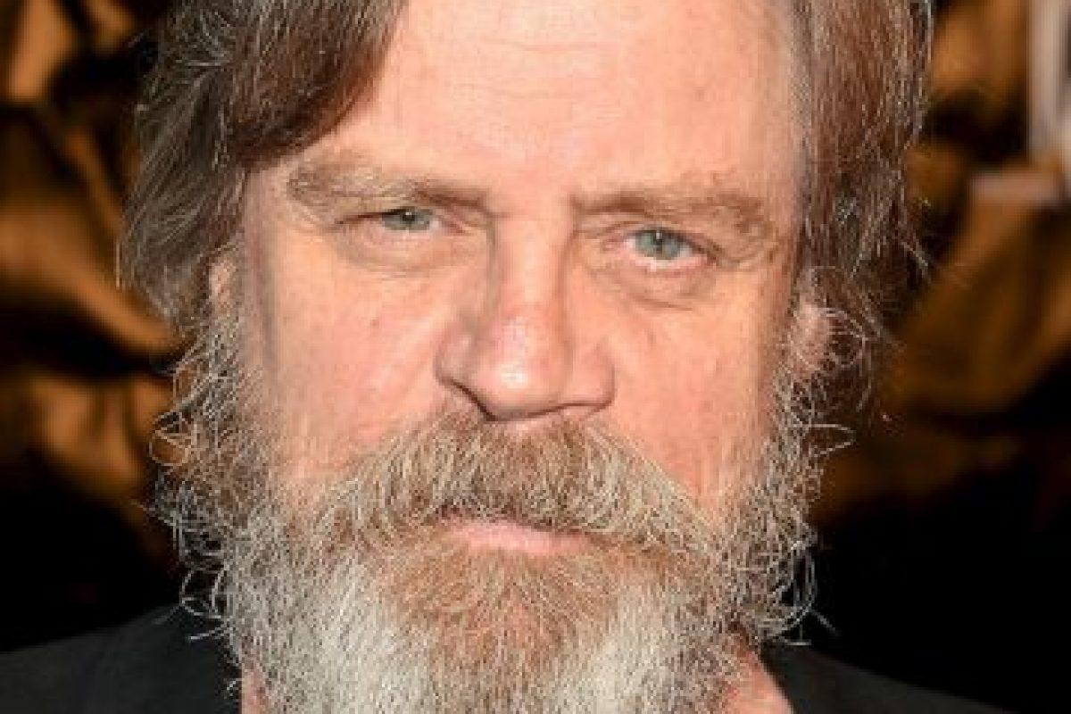 El estadounidense Mark Hamill interpretará a Luke Skywalker. Foto:Getty Images. Imagen Por: